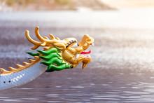 Decorated Figurehead Of Dragon...