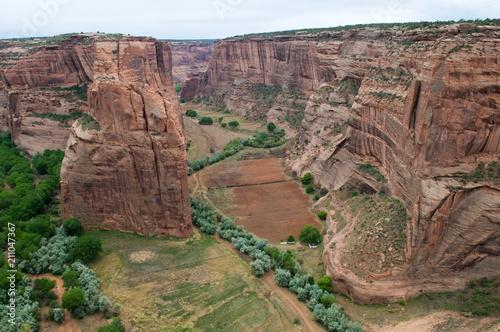 In de dag Canyon Canyon de Chelly
