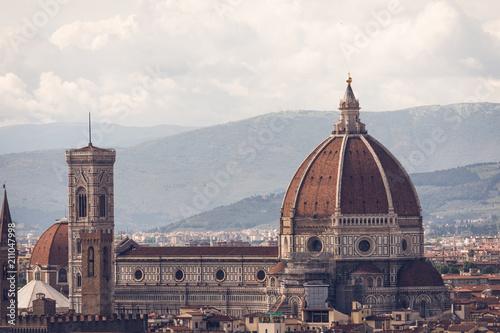 Foto op Canvas Florence Duomo Di Firenze
