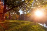 Wschód słońca w Parku Wolności, Brzeg
