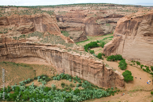 Deurstickers Canyon Canyon de Chelly