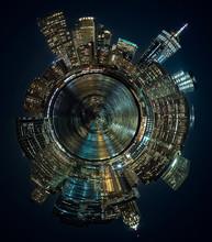 Mini Planeta De Manhattan, Nueva York, USA