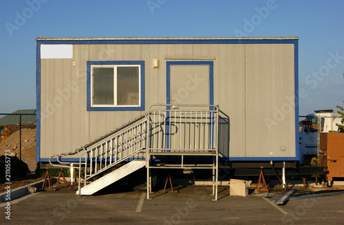 Fotografie, Obraz  construction office trailer
