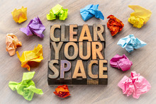Clear Your Space - Word Abstra...