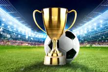 Golden Winner S Cup In The Mid...