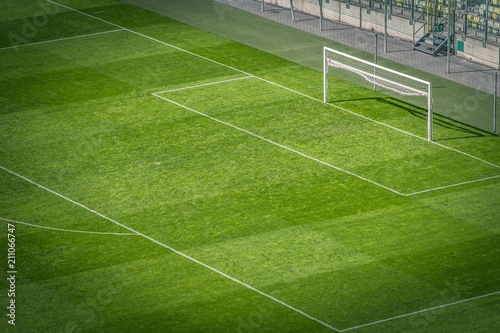 Obraz Football Pitch Closeup - fototapety do salonu