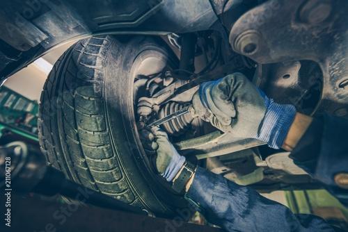 Cuadros en Lienzo Steering Joints Wear Check