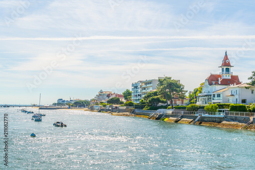 Coastline of Arcachon, France Wallpaper Mural