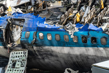 Fuselage Of Crashed 747 Airpla...