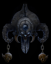 The Symbol Of The Demon, With ...