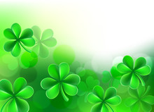 St Patricks Day Shamrock Clove...