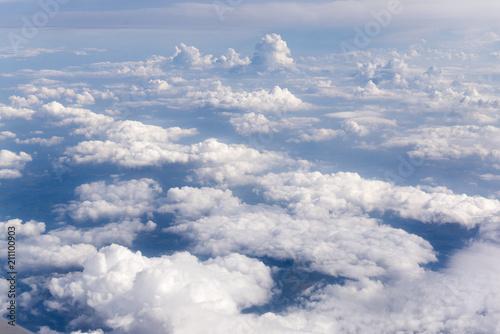 Über den Wolken Fototapet
