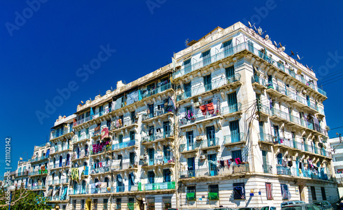 Moorish Revival residential architecture in Algiers, Algeria