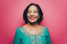 Portrait Of Smiling Senior Wom...