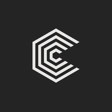 Vector Logo Letter C