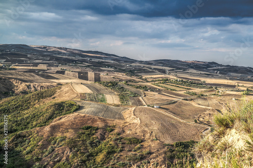 Photo Panorama da Calitri Avellino Irpinia Italia
