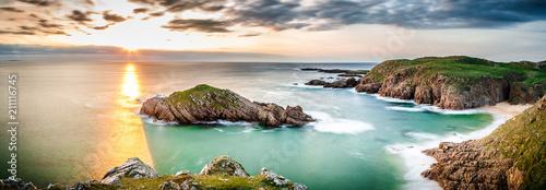 Foto-Schiebegardine Komplettsystem - Panorama in Ireland