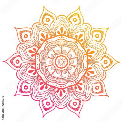 Photo Mandala Vector Design Element