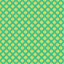 Seamless Pattern With Yellow P...