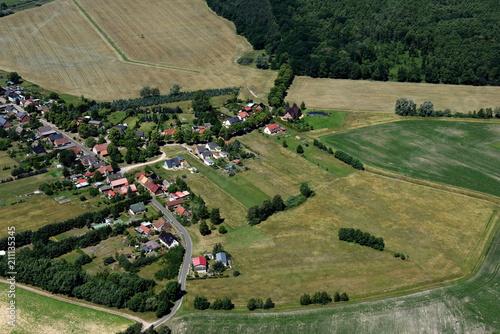 Zdjęcie XXL Sandförde, wioska na B109 2015