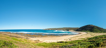 Panorama Of A Deserted Beach, ...