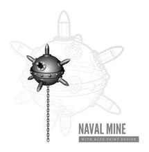 Naval Mine Illustration