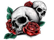 Disegno Di Una Tatuaggio Con D...