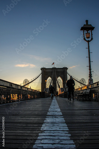Canvas Prints Bridge New York