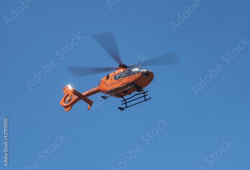 Rettungshubschrauber im Einsatz