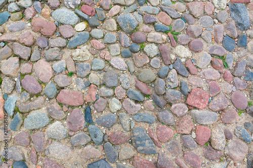 In de dag Stenen texture formed from stones