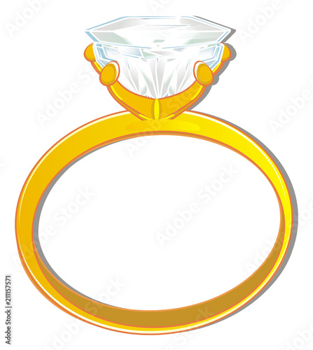 Ring Stone Diamond Engagement Ring Symbol Marriage Wedding Marry Me Jewel Illustration Cartoon Shadow Buy This Stock Illustration And Explore Similar Illustrations At Adobe Stock Adobe Stock