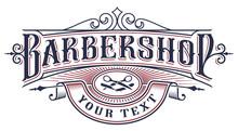 Barbershop Logo Design On The White Background.