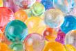 round hydrogel balls multicolored