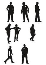 POLICIERS EN SERVICE