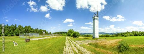 Fotomural  Point Alpha, innerdeutsche Grenze zwischen Hessen und Thüringen bei Geisa und Ra