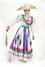 Mexican Regional Dancing Dress