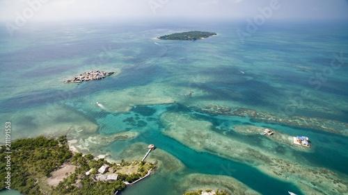 Isla Mucura isla de colombia muy cerca de monteria cordoba Tablou Canvas