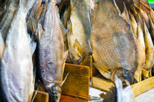 Dried Salted Fish Dried On Mar...