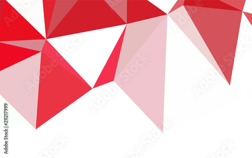 light blue red vector gradient triangles template buy this stock