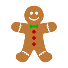 Gingerbread Man Holiday Biscui...