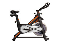 Spinning Bike For Exercise In ...