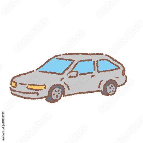 Fotografie, Obraz  自動車 車 イラスト ベクター