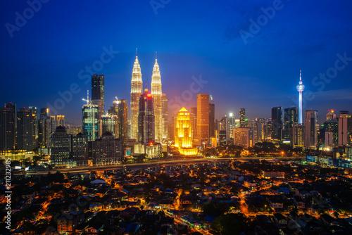 Photo Cityscape of Kuala lumpur city