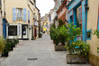 Marly le Roi; France - april 1 2018 : old village in spring