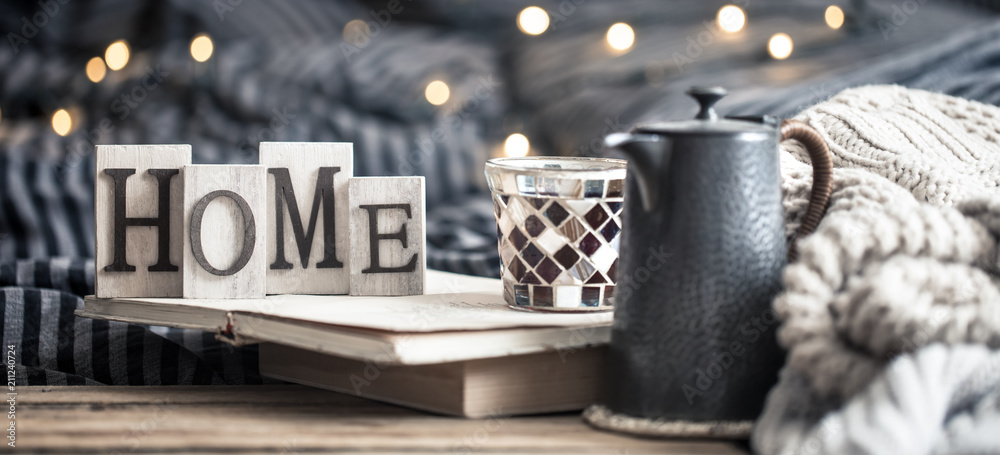 Fototapety, obrazy: home decoration in the interior