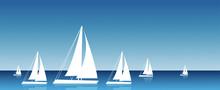 Barca A Vela, Mare, Vacanze, V...