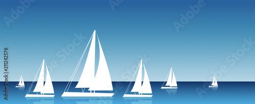 Fotografie, Obraz  barca a vela, mare, vacanze, viaggi,
