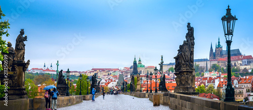 Staande foto Praag Prague is the capital of the Czech Republic, the European state. Historical sights.