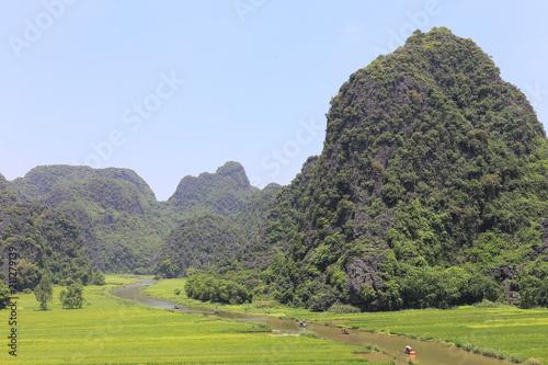 Tam coc in Ninh Binh ,Vietnam