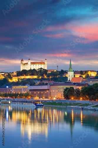 Bratislava Canvas Print